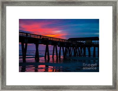 Savannah Sunrise Framed Print
