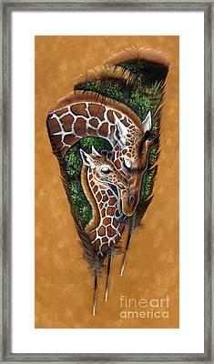 Savannah Tenderness Framed Print by Sandra SanTara