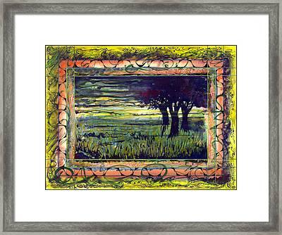 Savannah Framed Print by Tom Hefko