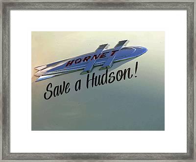 Save A Hudson Framed Print by Pamela Patch