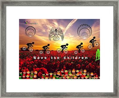 Save The Children Framed Print