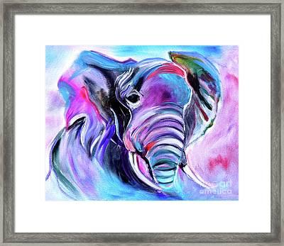 Save The Elephants Framed Print