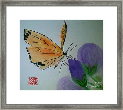 Save The Monarchs Framed Print