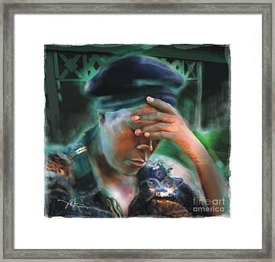 Save Us Framed Print