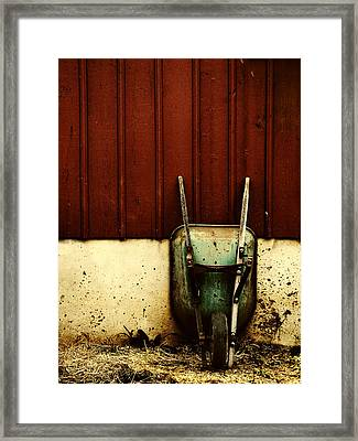 Saving Daylight Framed Print