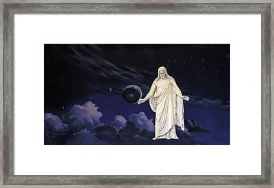 Savior Of The World Framed Print