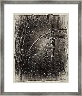 Savior Framed Print by Patricia Stalter