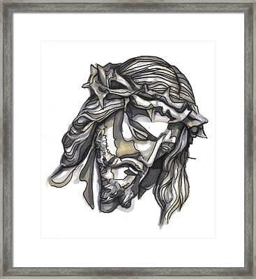 Saviour No 1 Framed Print by Edward Ruth