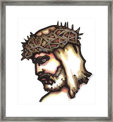 Saviour No 6 Framed Print by Edward Ruth
