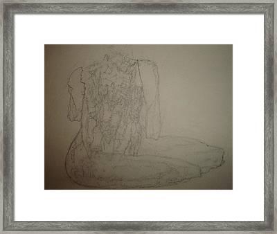 Savor Framed Print by Dean Corbin