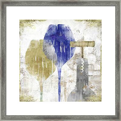 Savory Midnight Framed Print by Mindy Sommers