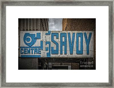 Savoy Centre Glasgow Framed Print
