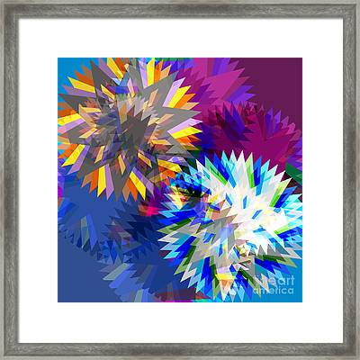 Saw Blade Framed Print by Atiketta Sangasaeng