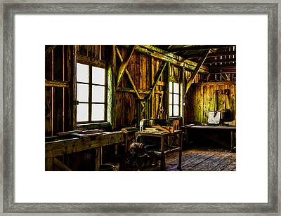 Saw Mill Framed Print