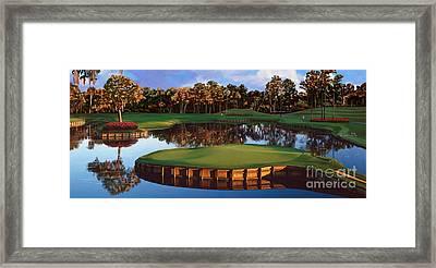 Sawgrass 17th Hole Hol Framed Print