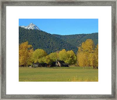 Sawtooth  Framed Print