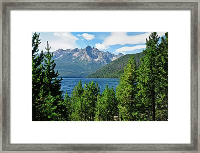 Sawtooth Serenity II Framed Print by Greg Norrell