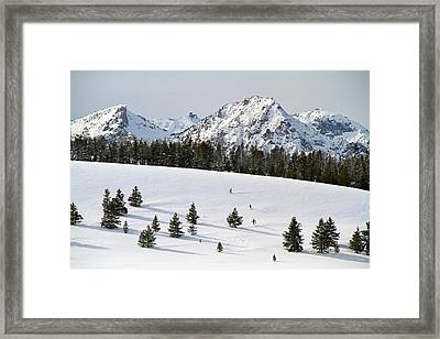 Sawtooth Wilderness Central Idaho Framed Print