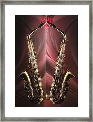 Sax Appeal Framed Print