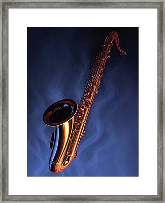 Sax Appeal Framed Print