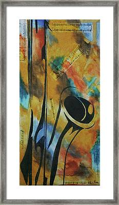 Sax Framed Print by Robin Lee