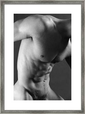 Sax Framed Print by Thomas Mitchell