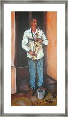 Saxophone 1 Framed Print