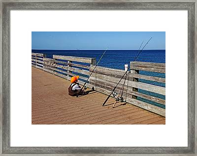 Say A Little Prayer Framed Print by Debbie Oppermann