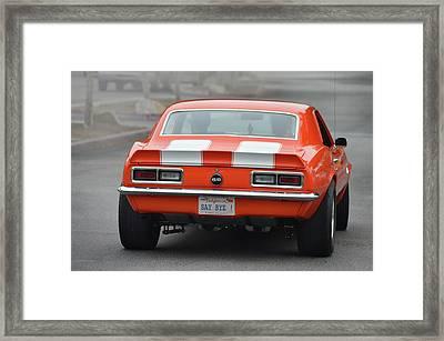 Say Bye S S Camaro Framed Print