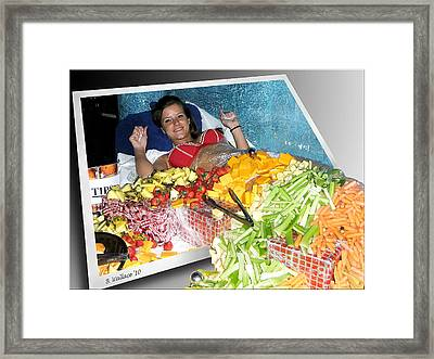 Say Cheese Framed Print by Brian Wallace