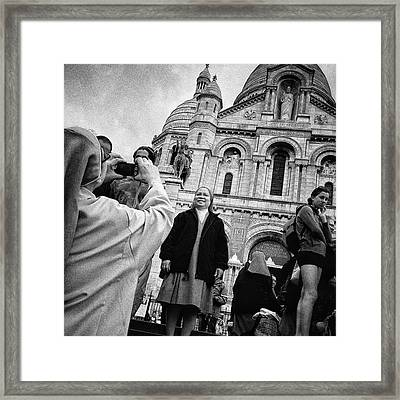 Say Chriiiiiiist!! #nun #monument Framed Print