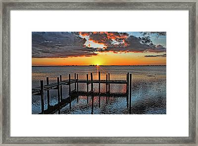 Say Goodnight Framed Print by HH Photography of Florida
