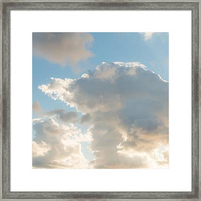Say Hi To Your Angels Framed Print by Ana V Ramirez