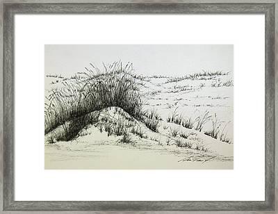 Say Off The Dunes Framed Print by Ben Vines Jr