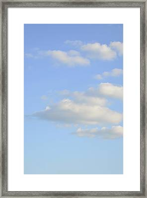 Say Vertical Framed Print