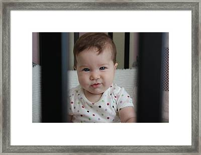 Framed Print featuring the photograph Say What by Michael Albright