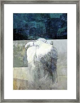 Saying Goodbye Framed Print