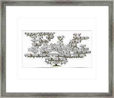 Sayn Wittgenstein Framed Print by Wladimir Ledochowski
