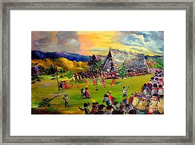 Sbiah Baah Framed Print