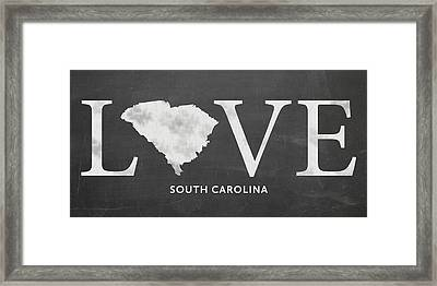 Sc Love Framed Print