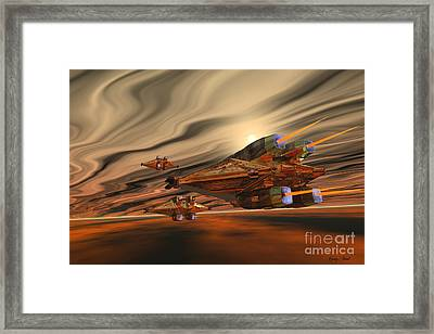 Scadlands Framed Print by Corey Ford