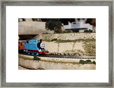 Scale Model Trains 5d21876 Framed Print