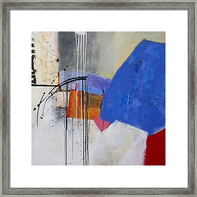 Scaled Up 1 Framed Print by Jane Davies