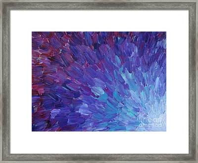 Scales Of A Different Color Framed Print By Julia Di Sano