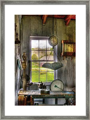 Scales - Scales Framed Print