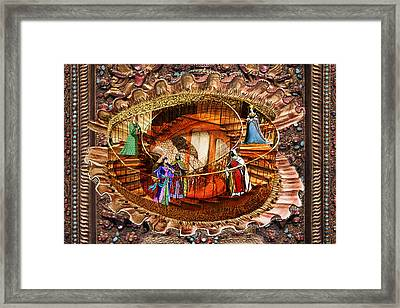 Scallop Shell Palace Framed Print