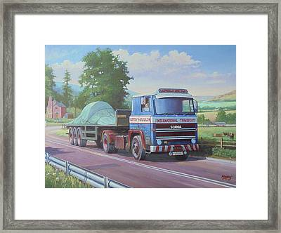 Scania Lloyds Of Ludlow Framed Print