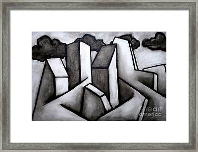 Scape Framed Print by Thomas Valentine