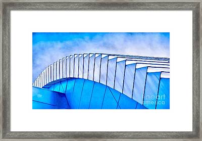 Scaped Glamour Framed Print