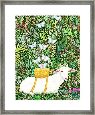 Scapegoat Healing Framed Print by Lise Winne